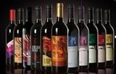酒店装饰用酒、仿真红酒、酒窖装饰红酒