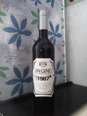 酒店装饰用酒、仿真红酒、酒窖装饰红酒 5