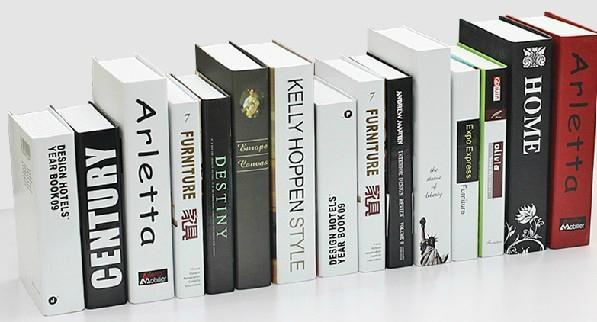 現代簡約英文系列裝飾書 樣板房裝飾仿真書 攝影道具書 假書 4