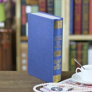 欧式烫金仿真书 装饰书假书 摄影新房书房书柜道具 假书模书盒 2