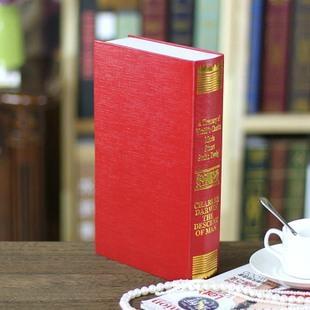歐式燙金仿真書 裝飾書假書 攝影新房書房書櫃道具 假書模書盒 3