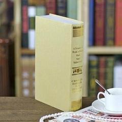 欧式烫金仿真书 装饰书假书 摄影新房书房书柜道具 假书模书盒
