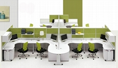 """19""""Office furniture white ultra-thin dummy LED display"""