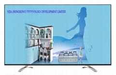 """60""""家具展厅装饰电视 电视模型 道具电视 样板房电视"""