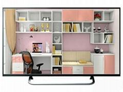 """70""""傢具展廳樣板房電視 電視模型 仿真電視"""