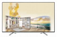 """70""""样板间电视模型 展厅电视 仿真电视"""