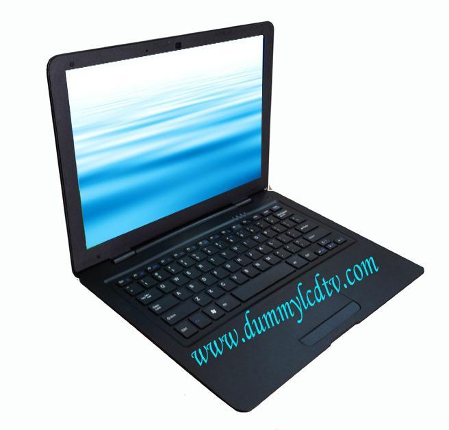 props laptop model dummy computer model