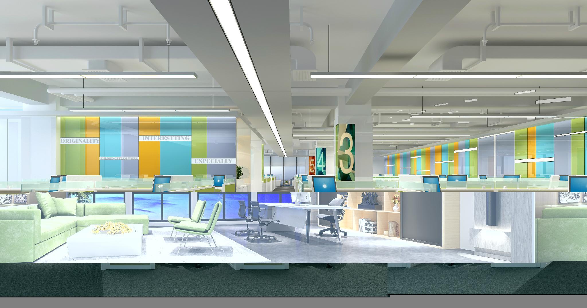成都办公家具展厅笔记本模型 电脑模型 11