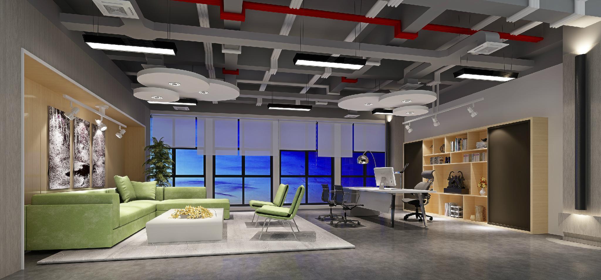 崑山辦公傢具展廳筆記本模型 電腦模型 11