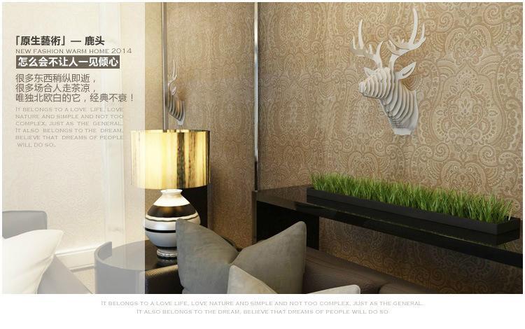 Wood Art - Deer Table 3