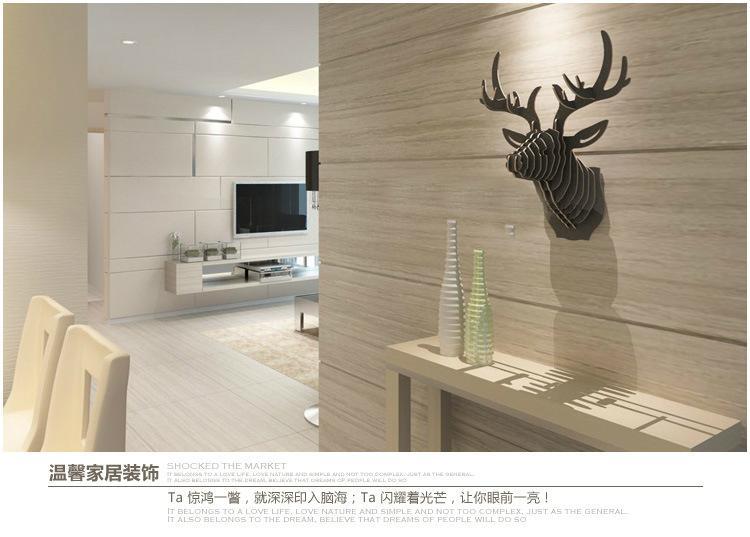 Wood Art - Deer Table 5