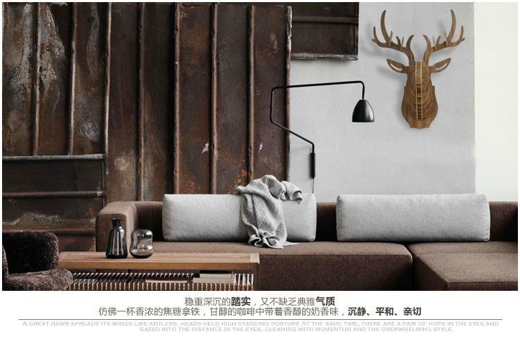 Wood Art - Deer Table 7