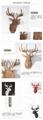 Wood Art - Deer Table 9
