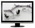 """22 """"Office furniture white ultra-thin dummy LED display"""
