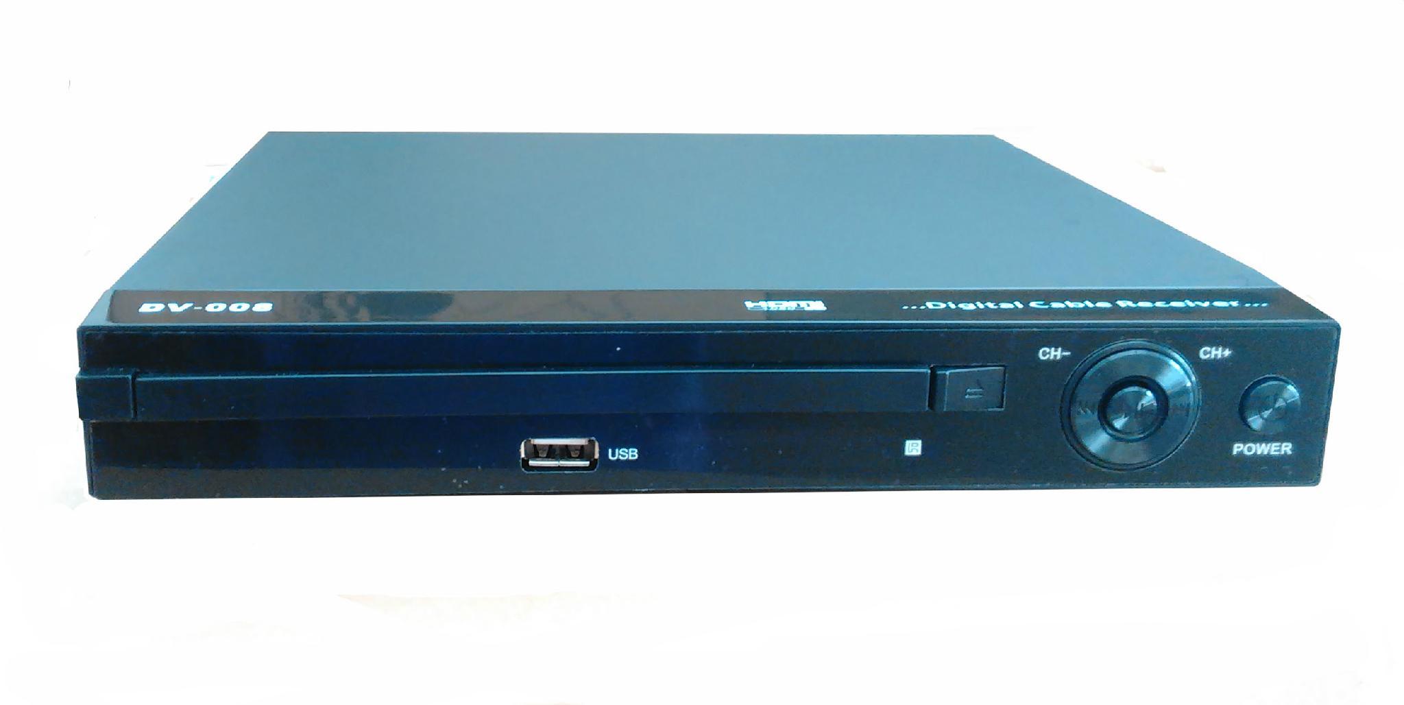 傢具展廳電視機頂盒模型 3