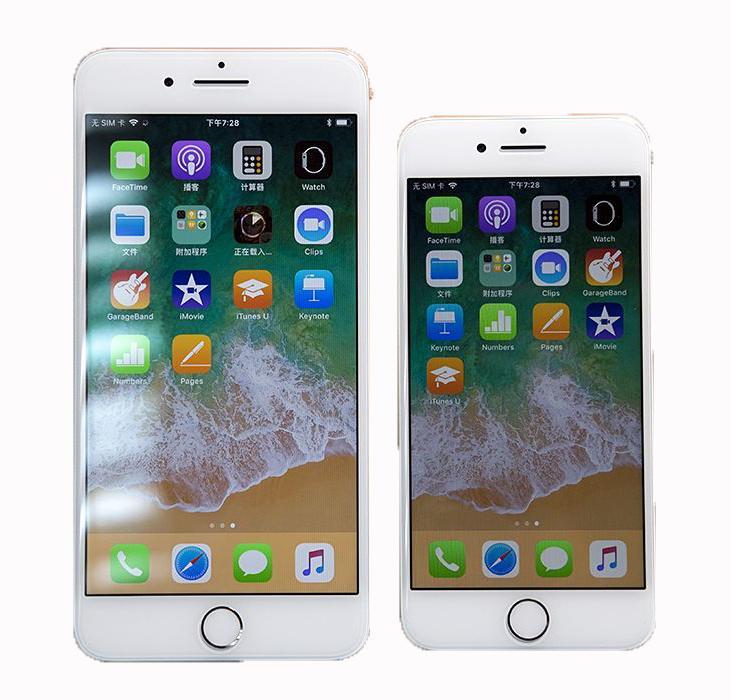 蘋果X模型8plus手機模型機上交8代樣品iphone8黑屏仿真道具機模型 1