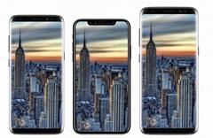 iphone手机模型,橱窗柜台展示手机