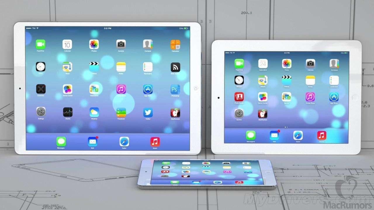 """IPAD 12.9""""平板電腦模型 蘋果平板電腦模型 7"""