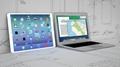 """IPAD 12.9""""平板电脑模型 苹果平板电脑模型 8"""