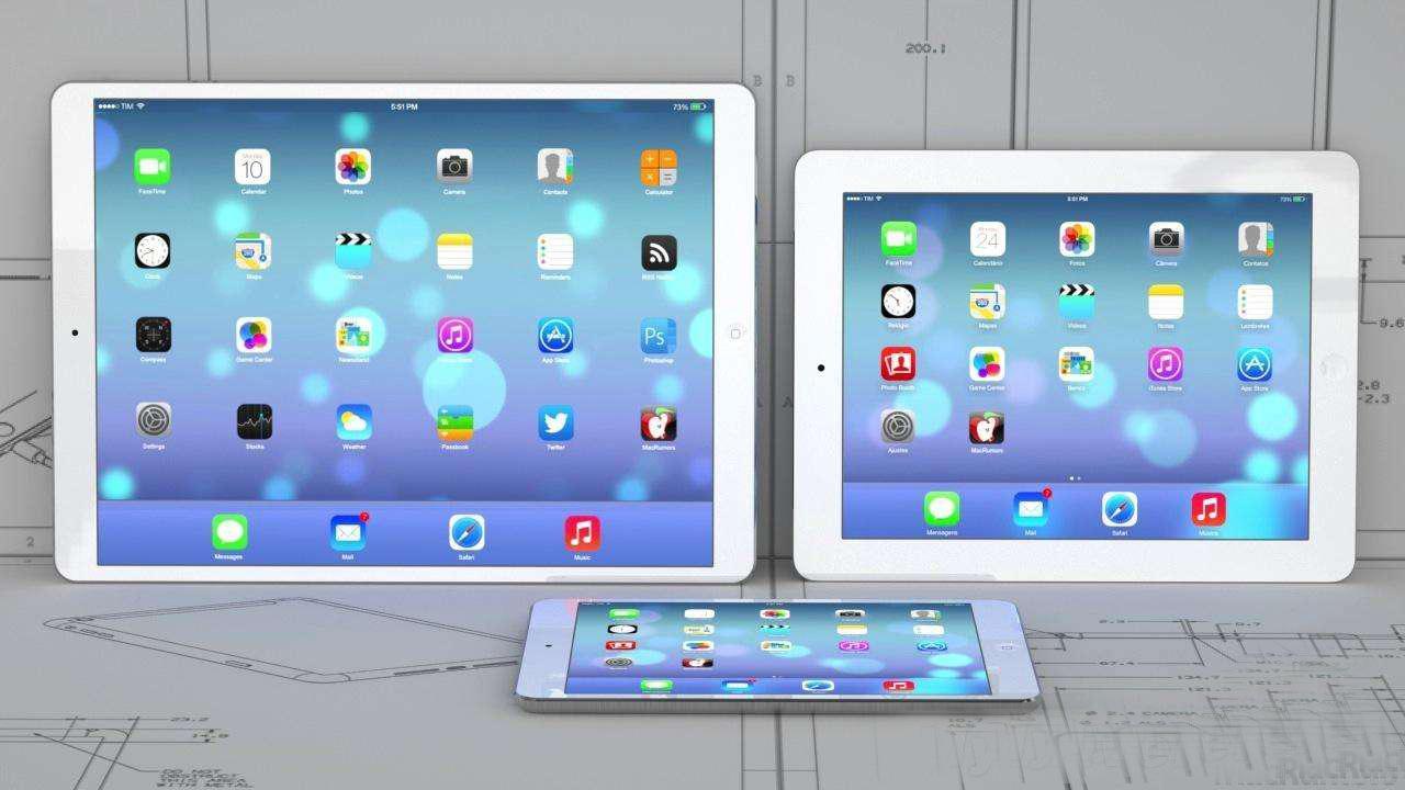"""IPAD 12.9""""平板电脑模型 苹果平板电脑模型 15"""