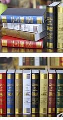 歐式燙金裝飾書籍 裝飾書 仿真書 道具書 假書 模型