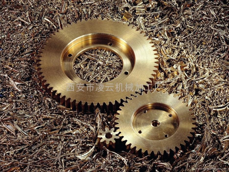 西安機械配件加工 4