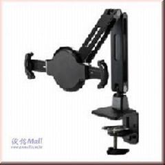 夹桌式双节支臂平板电脑支架IP-C200
