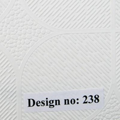 Embossed PVC film for gy