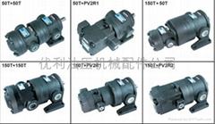 低压双联定量叶片泵