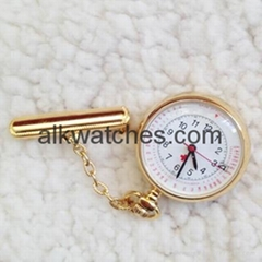 nurse gift nurse watch fob pocket watch nurse gold,silver calendar nurse watch.