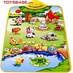婴儿玩具-音乐挂图地毯(开心农场)
