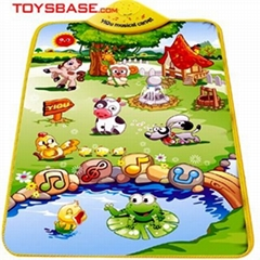 Baby Toy Musical Baby Carpet Play Mat