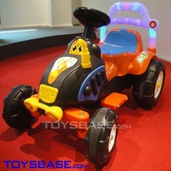 Electrical Rider-Cartoon Ride on Tractor ZTH112044