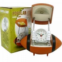 Football Shape Table Clock JCH65793