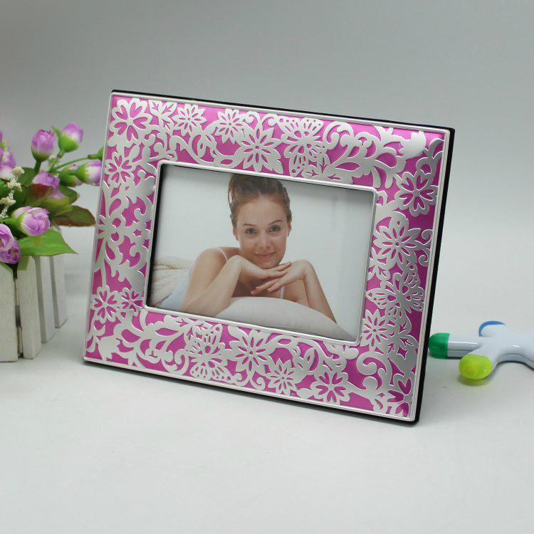 鋁合金屬藝朮照相框可絲印可鐳射相框 2