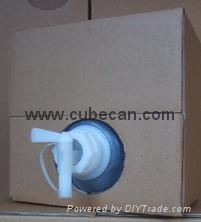 5 gallon laboratory reagent packing cubitainer