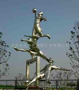 北京不鏽鋼景觀雕塑 2