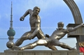 不锈钢雕塑 2