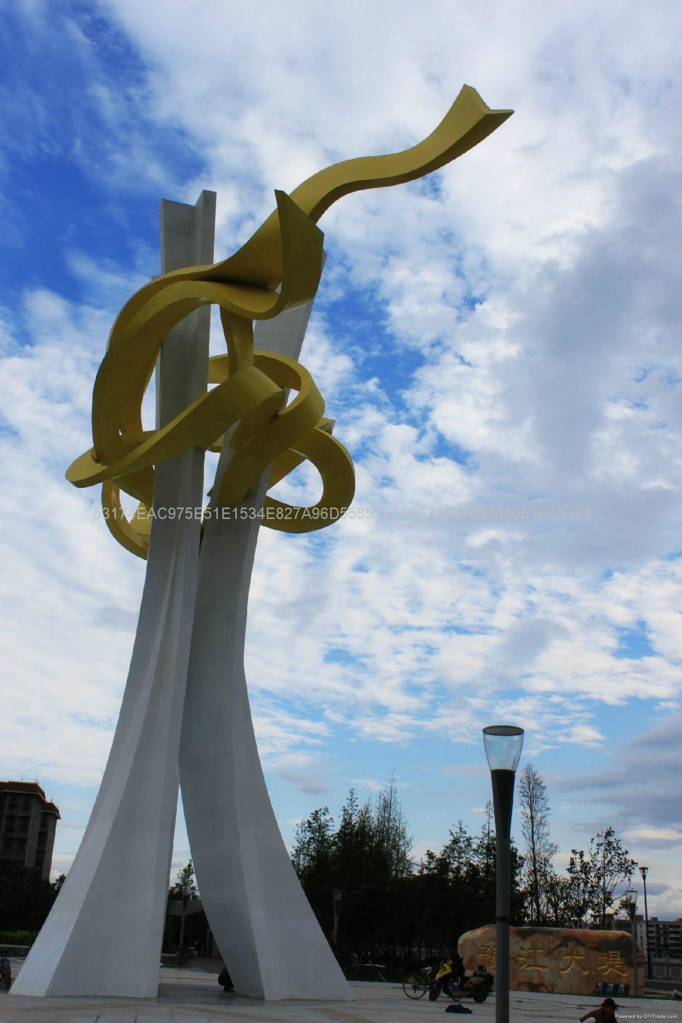 不鏽鋼雕塑 5