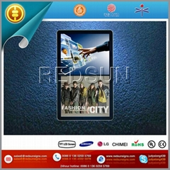 22inch single side 3G wireless split screen LCD Ads Display