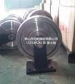 Ball Bearing Heavy Duty Railway Forged Steel Wheel 4