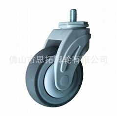 medical bed caster wheel
