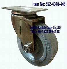 304 Stainless steel silence caster wheel