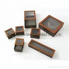 jewelry box paper pendan