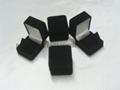 绒布珠宝盒 绒布耳环盒 绒布坠饰盒 2