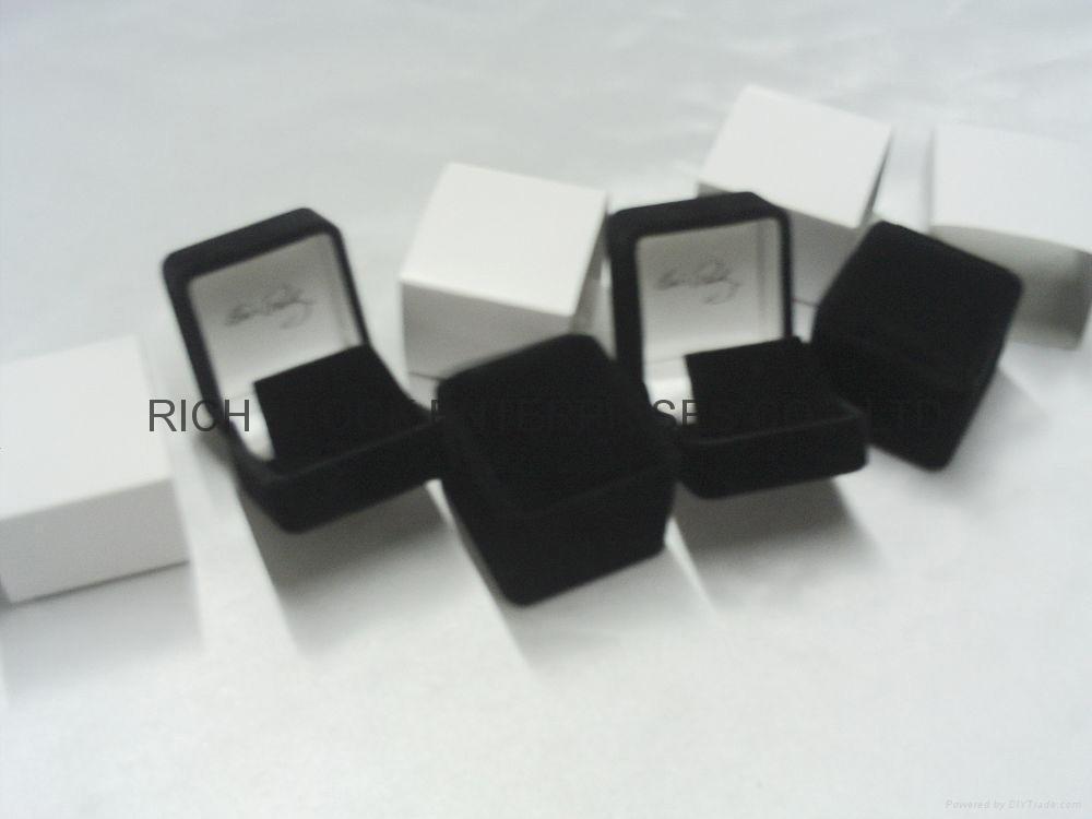 velvet jewelry box velvet earring box velvet gift box 4