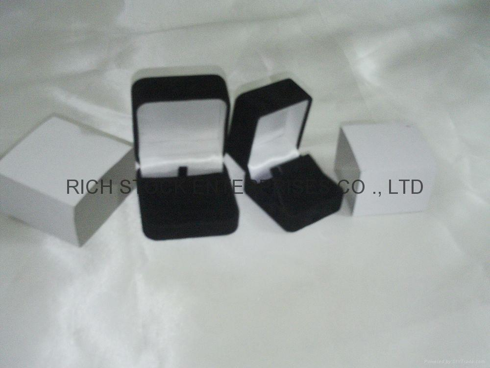 绒布项链盒 绒布手链盒 绒布坠饰盒 绒布饰品盒 2