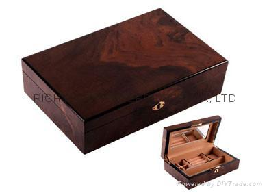 jewelry box/wooden jewelry box/wooden dressing case/wooden powder box 1