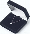 velvet necklace box velvet aiglet box