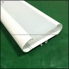 The dongguan LED fluorescent lamp shell PC expansion, the light chimney